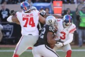 Giants Stay Cold Against Raiders as Eli Manning Warms the Bench