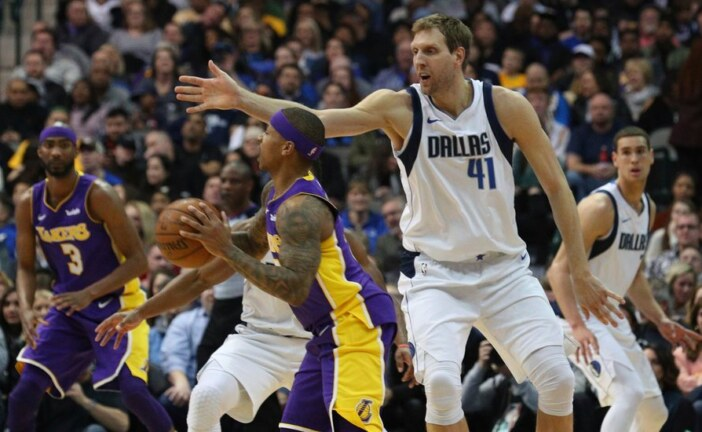 Mavericks Forward Dirk Nowitzki Has Season-Ending Ankle Surgery