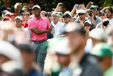 At the Masters, Tiger Woods Is a Cautionary Tale and a Favorite