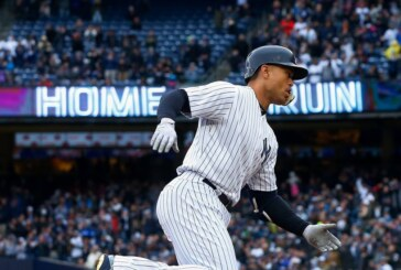 Giancarlo Stanton Quiets the Boos by Leading the Yankees' Homer Barrage