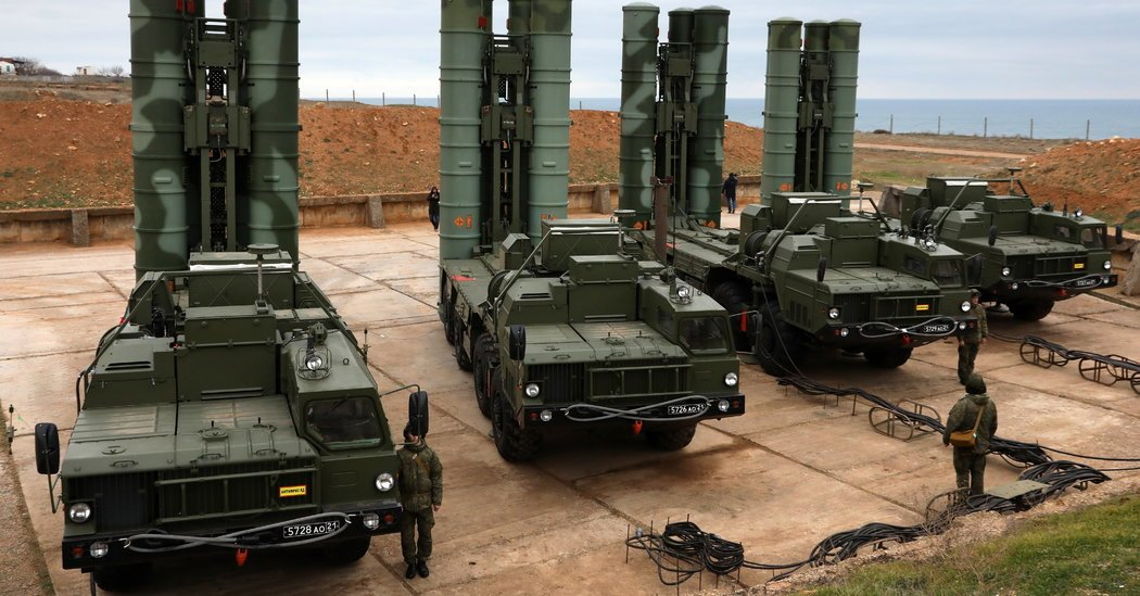 India Is Close to Buying a Russian Missile System, Despite U.S. Sanctions