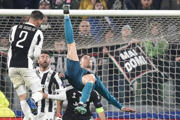 Cristiano Ronaldo Lifts Real Madrid Over Juventus