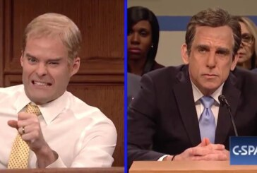 'S.N.L.' Cold Open Skewers Michael Cohen Hearings With Stiller and Hader