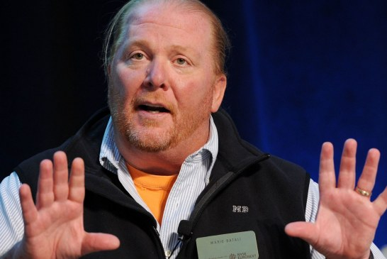 Celebrity chef Mario Batali surrenders ownership of restaurants