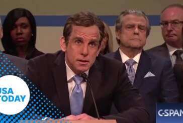 Ben Stiller digs at Cohen on 'SNL'