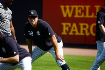 Aaron Judge Enters Camp Smiling, as Usual, and Healthy, for a Change