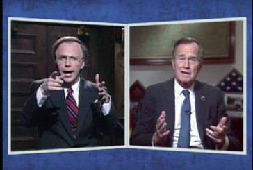 'SNL' Fondly Recollects George H.W. Bush's Sense Of Humor