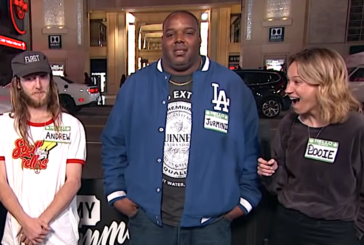 Unpaid TSA Agent Guesses Who's High On The Street On 'Jimmy Kimmel'