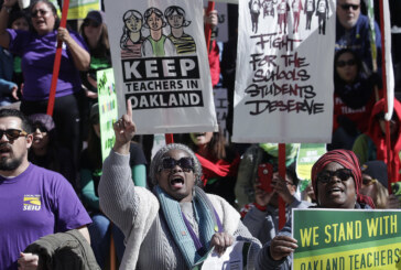 Oakland Teachers Strike Enters Third Day As Negotiations Continue