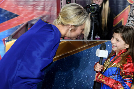 Brie Larson Shared The Sweetest Moment With Little Girl At 'Captain Marvel' Premiere