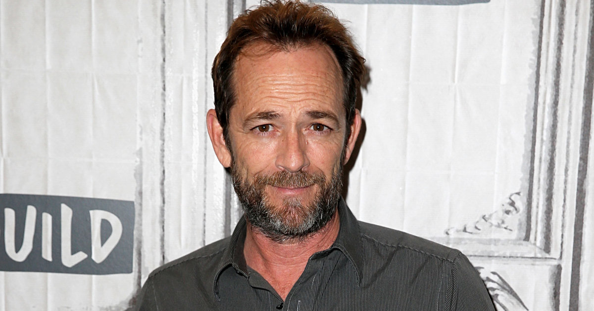 Luke Perry Hospitalized After Reportedly Suffering Stroke