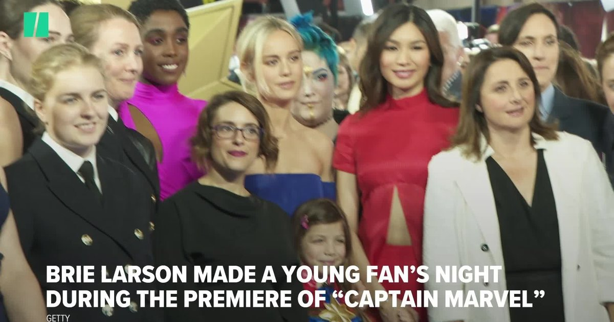 Brie Larson Shared The Sweetest Exchange With A Young 'Captain Marvel' Fan
