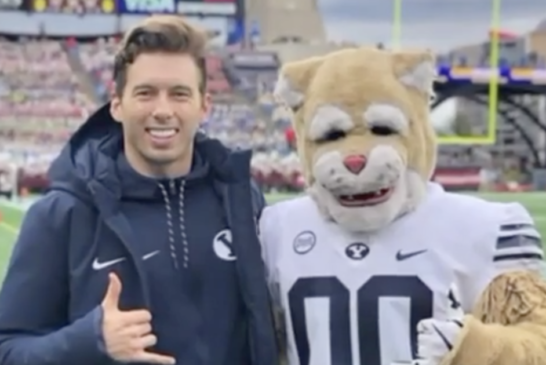 Former Brigham Young University Mascot Comes Out As Gay In Powerful Essay