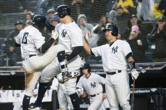 In Chilly Home Opener, Didi Gregorius Brings the Heat for the Yankees