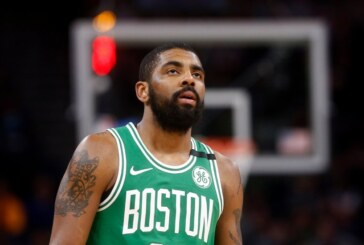 Celtics' Kyrie Irving Will Miss the N.B.A. Playoffs