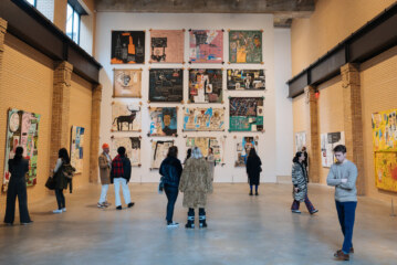 'Jean-Michel Basquiat' at the Brant Shows His Bifurcated Life