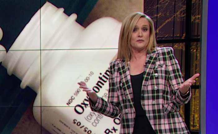 Samantha Bee Pillories Sackler Family for Their Role in Opioid Epidemic