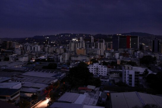 As Blackout Plunges Venezuela in Darkness, Maduro Blames the U.S.