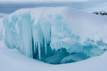 Where Nature Sculpts Beauty From Cold and Ice