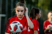 A Soccer Pro at 13? Olivia Moultrie Will Give It a Try