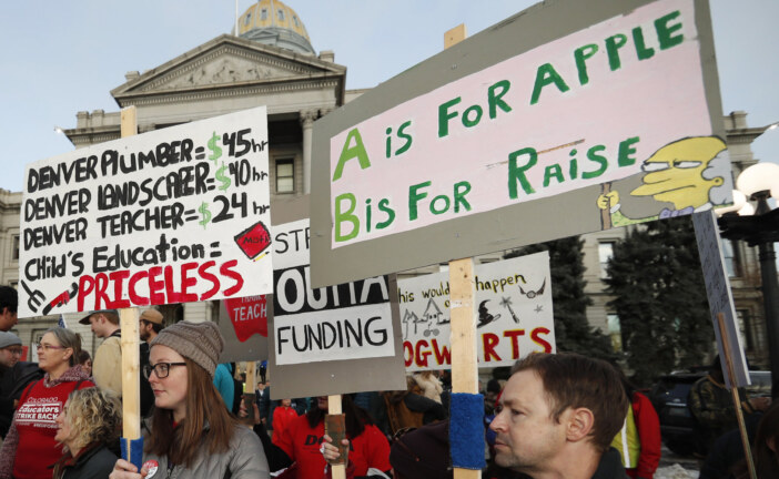 Denver Teachers Go On Strike For The First Time In 25 Years