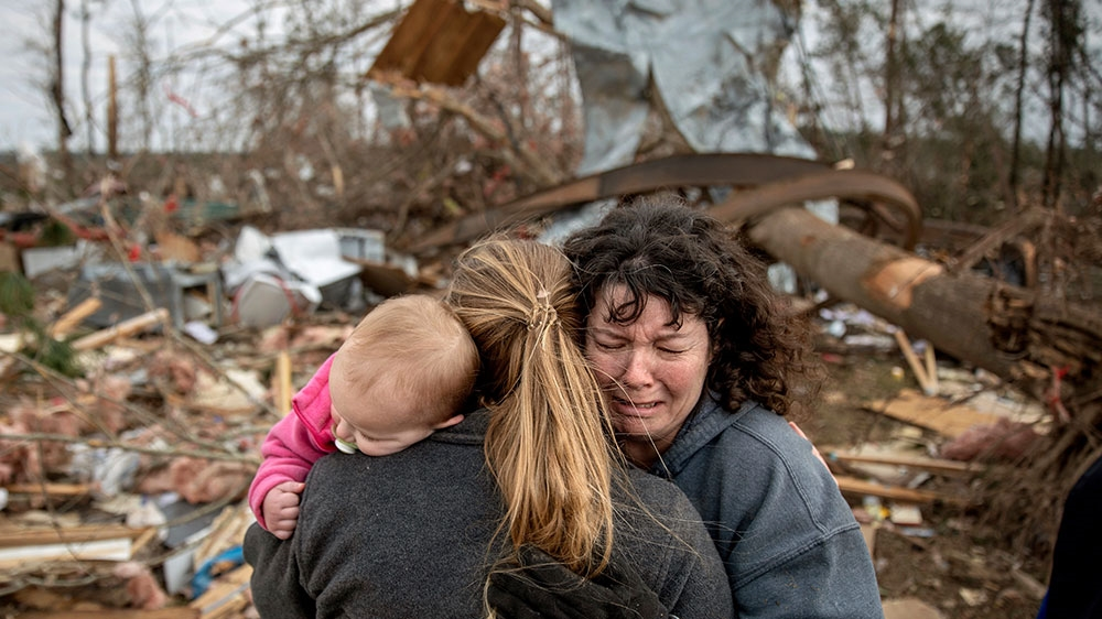 'We're hurting': Alabama town mourns victims of deadly tornado | USA News