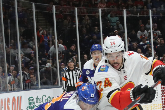 Calgary Hands the Islanders Their Third Defeat in Four Games
